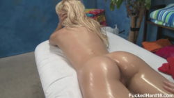 Carmen Monet massage girl sucking