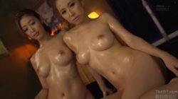 Asahi Mizuno and Erika Kitagawa | Erotic Threesome Spa