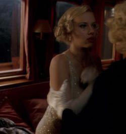 19 year old Scarlett Johansson bouncing plot in A Good Woman (2004)