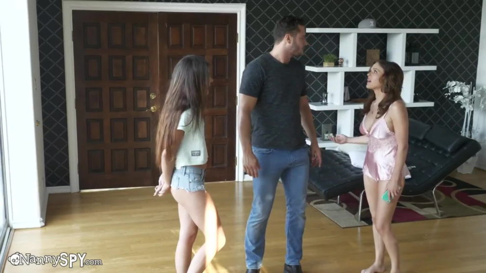 Adria Rae - I Caught The Nanny Stealing.. Let Me Handle It Dear