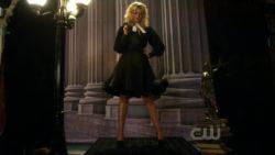 Aly Michalka channeling Marilyn Monroe in Hellcats TV Show