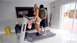 Vanessa Cage - XXX Treadmill Tan Lines