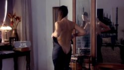 "Monica Bellucci getting dressed in ""Under Suspicion"""