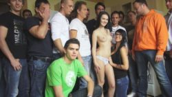 CZECH GANGBANG ORGY – Also many chisels for one gorgeous lady