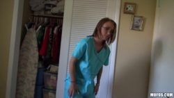 Carrie Cummings - Nurse with the quickie before work