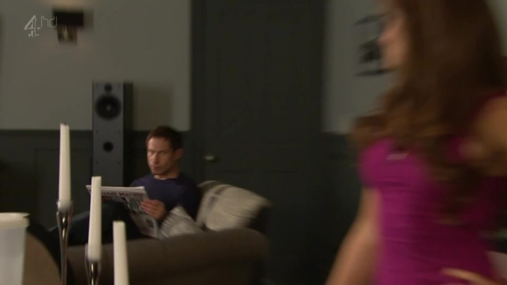 Rachel Shenton Ass Shake in Hollyoaks