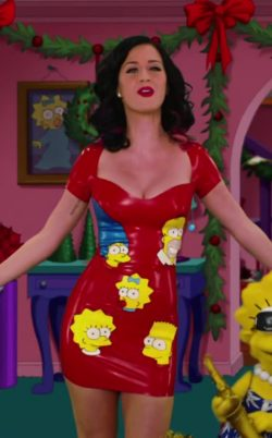Katy Perry brings some rare plot to The Simpsons