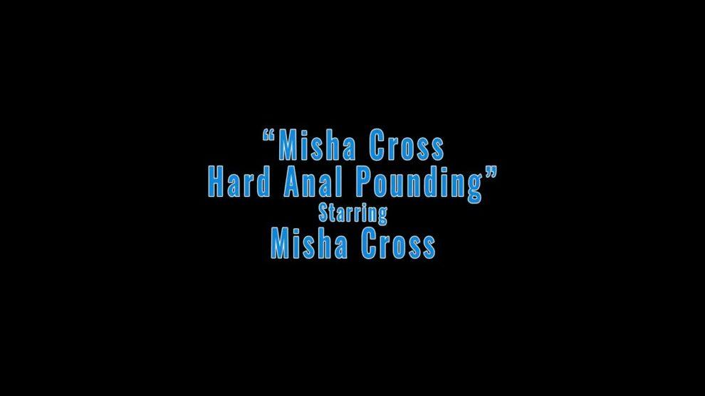 Petite Misha Cross gets anal