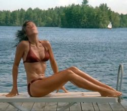 Jane Fonda bikini plot from On Golden Pond (1981)