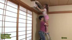Erika Kitagawa | Temptation of Busty Braless Housewife