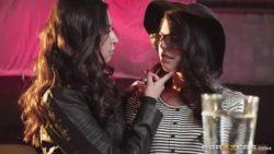 (Brazzers) Melissa Moore & Gina Valentina - Perfect Strangers