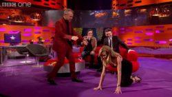 Amanda Holden - NipSlip on BBC One