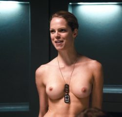 Cécile Breccia plot from Starship Troopers 3: Marauder (2008)