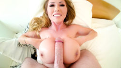 Asian MILF Model's Sloppy BJ/Tit Fuck