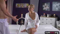 Katrin Tequila - Horny blonde minx has orgasmic fuck