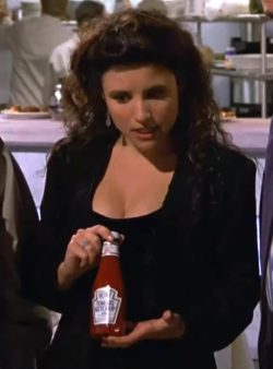 Julia Louis-Dreyfus: Ketchup Plot from Seinfeld.