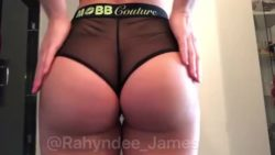 Rahyndee James' Insane Ass