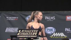 UFC champions 'Thug' Rose Namajunas bringing plot to the weigh-ins