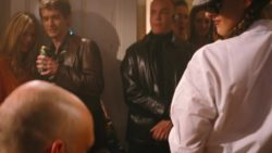 Janine-May Tinsley stripping in Cashback
