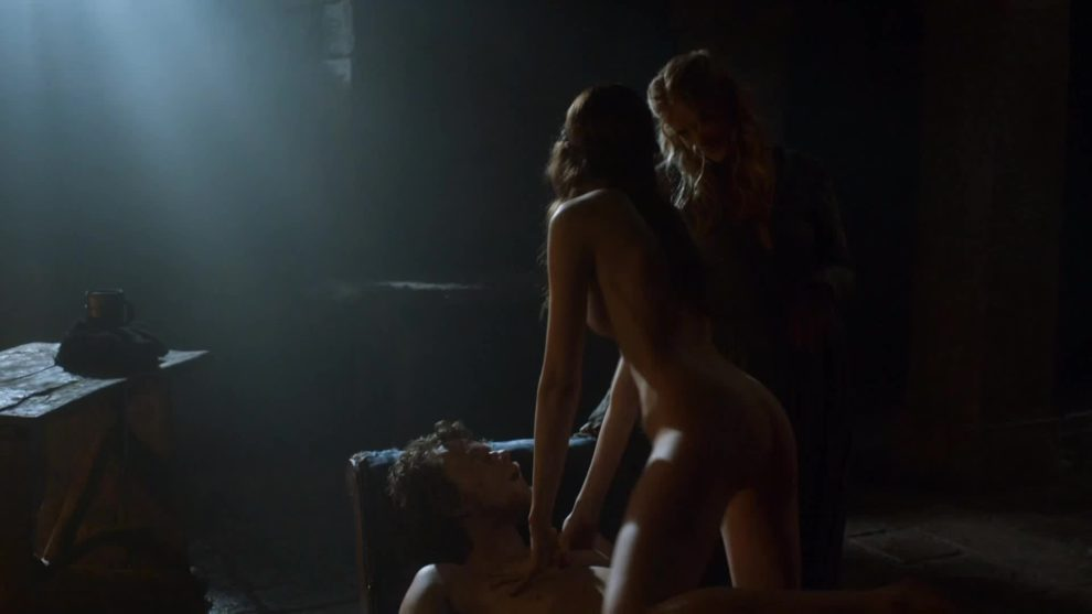 Charlotte Hope had a great backplot in Game of Thrones (S3E7)