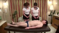 Kaori and Ryoko Murakami | Hot Oil Massage