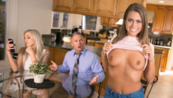 Scorching nympho Jill Kassidy cuckolds new hubby together with her stepdad