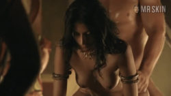 Aria Dickson gets dicked from behind in Spartacus: Blood and Sand (2010)
