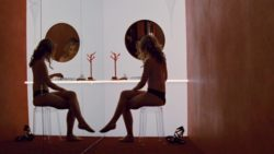 Piper Perabo nude in Looper (HD