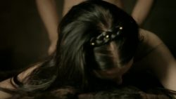 Katie McGrath Pounded From Behind in Labyrinth