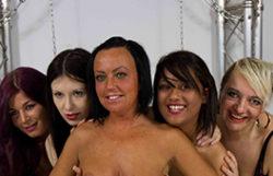 5 women going ballsack