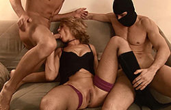 Spectacular golden-haired mother I'd like to fuck in a excellent 3some oral act