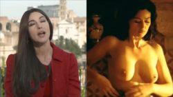 Monica Bellucci - Clothed vs Unclothed
