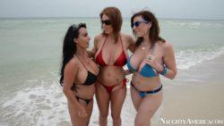 MILFs on the beach