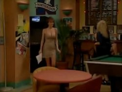 """Nikki Cox big tits on """"Unhappily Ever After"""""""