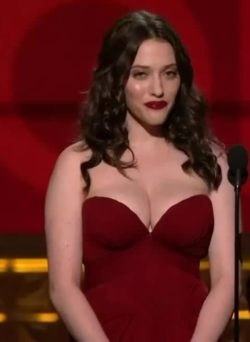 Kat Dennings with two amazing plot points