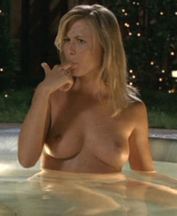 """Molly Schade in Eurotrip(Unrated) trying to get """"sap"""" off"""
