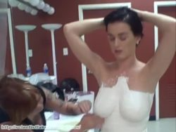 Katy Perry auctioning her boobs for charity 8 years ago (more info in comments)