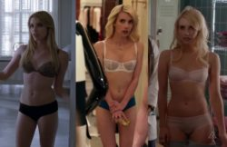Emma Roberts underwear plot from American Horror Story