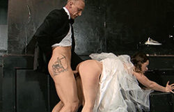 Ribald bride receives the pummeling of a lifetime