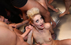 German dame group sex – part 1