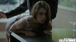 spanking her ass
