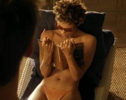 Halle Berry topless in Swordfish (2001)