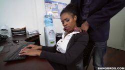 Ivy Young - Ivy Young learns how to get ahead in the office