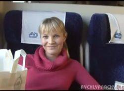 Jane Doe - Czech on a Train
