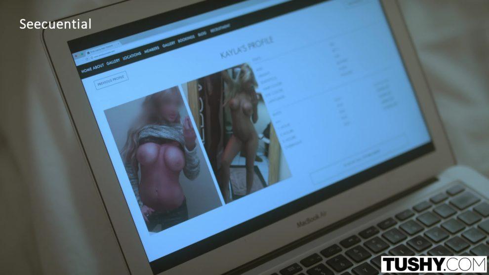 [Tushy] Kayla Kayden & Mindi Mink - Gape For My Husband