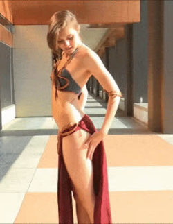 Sexy leia with amazing ass