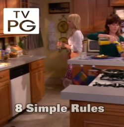 18 year old Kaley Cuoco on 8 Simple Rules