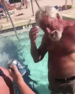 pour beer down her butt and you drink it