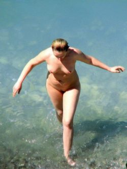 Nude beach voyeur photos