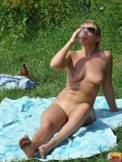 Flirting plus teasing found on the beach